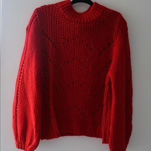 Red Winter Sweater